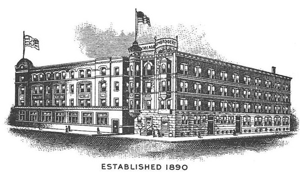 Early Factory Life About Us The Chicago Embroidery Company