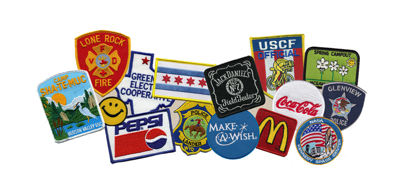Customizable Embroidered Patches And Emblems The Chicago